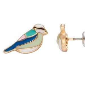 Jewelry - Lauren Conrad Bird Stud Earrings